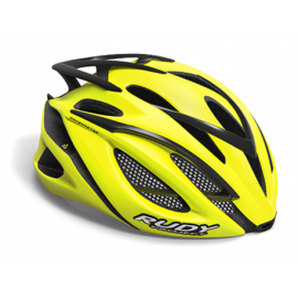 RUDY PROJECT KASK RACEMASTER YELLOW FLOU R.L