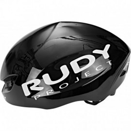 KASK RUDY PROJECT BOOST PRO BLACK SHINY R.S/M