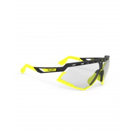 Okulary Rudy Project Defender Black Matte / Yellow Fluo - ImpactX Photochromic 2 Laser Black