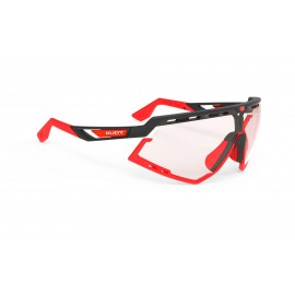 Okulary Rudy Project Defender Black Matte / Red Fluo - ImpactX Photochromic 2 Red