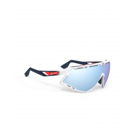Okulary Rudy Project Defender Fade Stripes  White G./White - Multilaser Ice