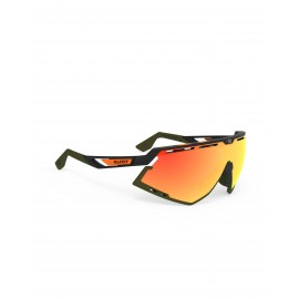 Okulary Rudy Project Defender Stripes Black Matte/Black Multilaser Orange