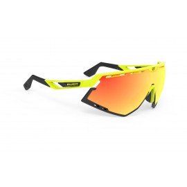 Okulary Rudy Project Defender Yellow Fluo Gloss / Black - Multilaser Orange