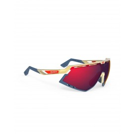 Okulary Rudy Project Defender GOLD MATTE / BUMPERS  - RP OPTICS MULTILASER RED