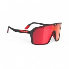 Okulary Rudy Project SPINSHIELD BLACK MATTE / MULTILASER RED