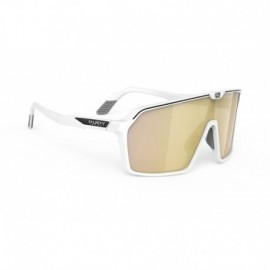 Okulary Rudy Project SPINSHIELD WHITE MATTE / MULTILASER GOLD