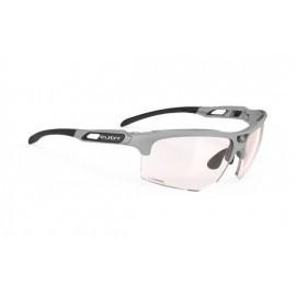 Rudy Project okulary Keyblade Running light grey matte ImpactX 2Red