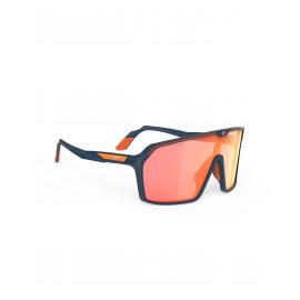 Rudy Project okulary Spinshield Blue Navy Matte Multilaser Orange