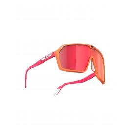 Rudy Project okulary Spinshield Mandarin Fade Coral Matte Multilaser Red