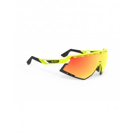 OKULARY RUDY PROJECT DEFENDER BLACK MATTE/YELLOW FLUO - IMPACTX 2 LASER BLACK