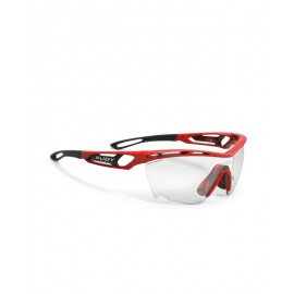 OKULARY RUDY PROJECT TRYLAX FIRE RED GLOSS - IMPACTX 2 BLACK