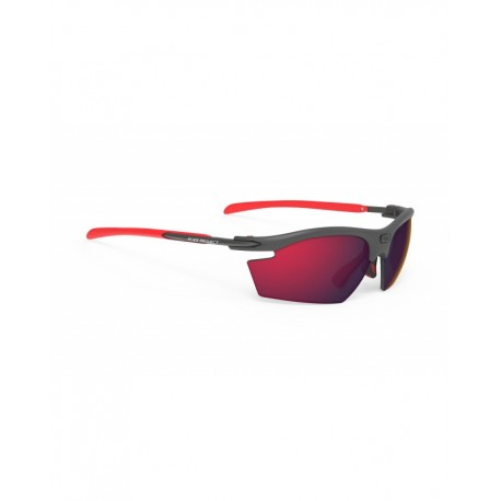 OKULARY RUDY PROJECT RYDON GRAPHITE MULTICOLOR RED - MULTILASER RED