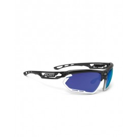 Okulary Rudy Project Fotonyk Crystal Graphite/Bampers White - Multilaser Blue