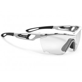 OKULARY RUDY PROJECT TRALYX SLIM WHITE GLOSS IMPACTX PHOTOCHROMIC 2BLACK