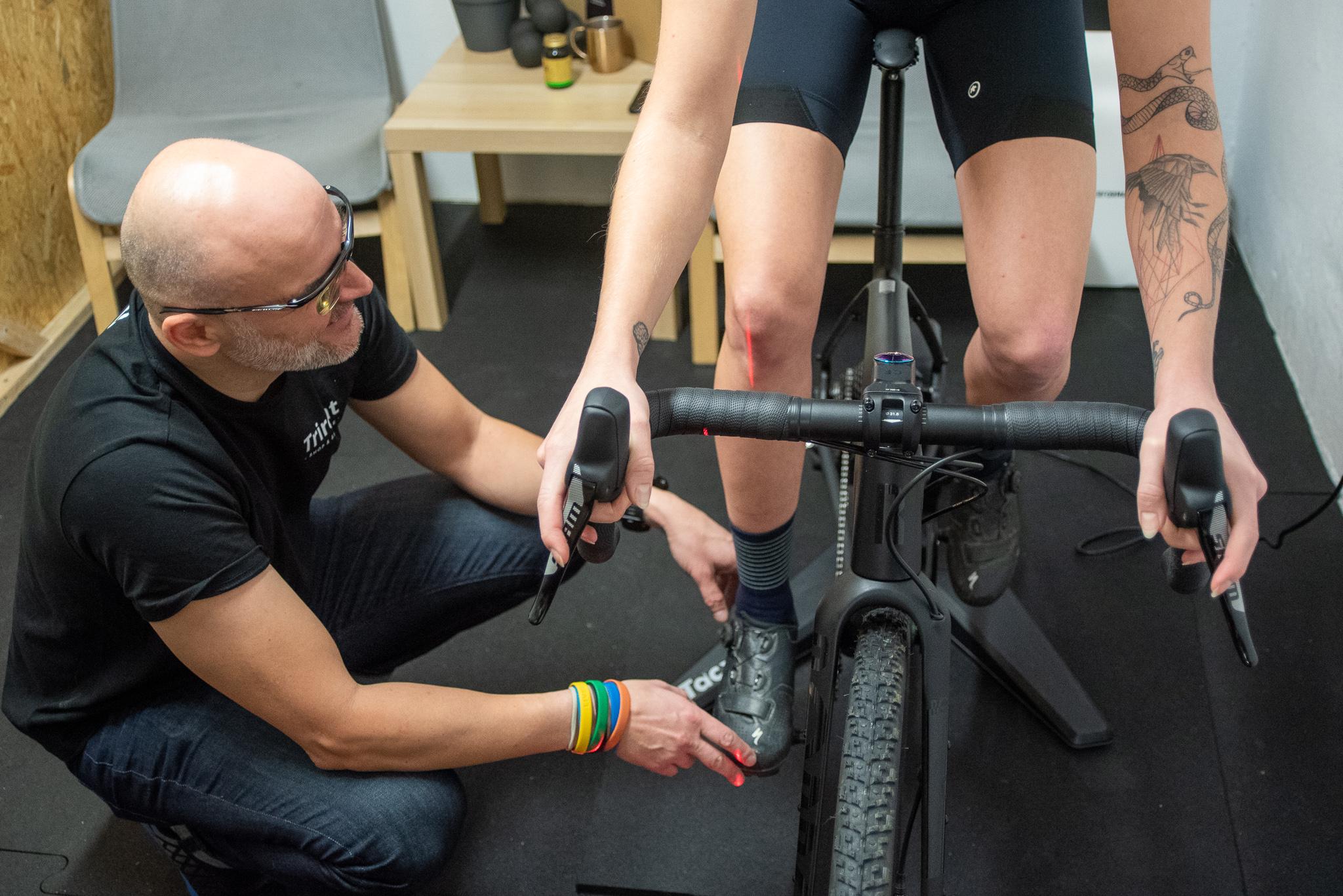 Bikefitting graveli wyścig ultra fitting Warszawa Trirent