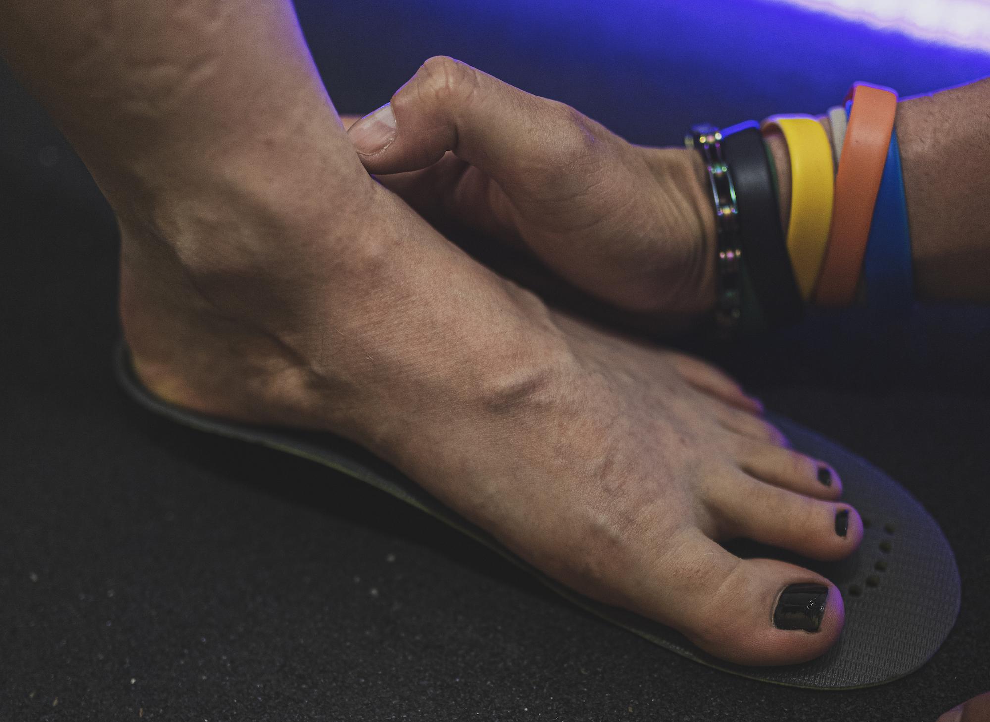 Indywidualnie dopasowane wkładki do butów Superfeet